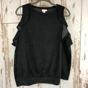 Isabel Maternity Cold Shoulder Sweater, Small. I99